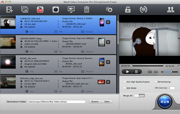 how to compress mp4 videos