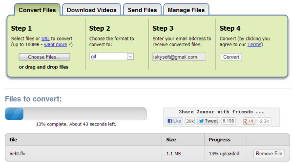 convert mp4 to avi online free